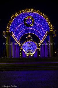 Festive Lights at Christoper Columbus Park