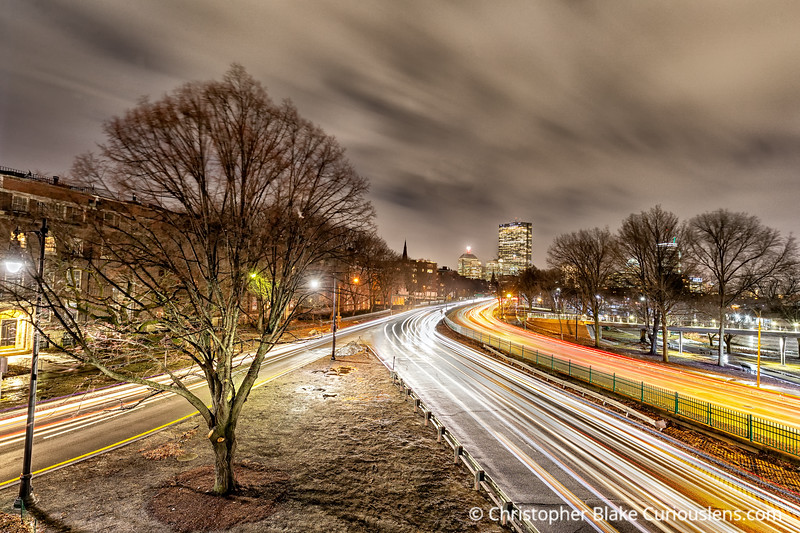 Storrow Drive - Winters Night