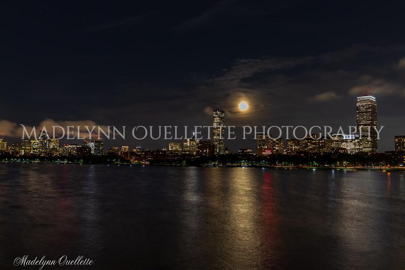 Full Sturgeon Moon in Boston