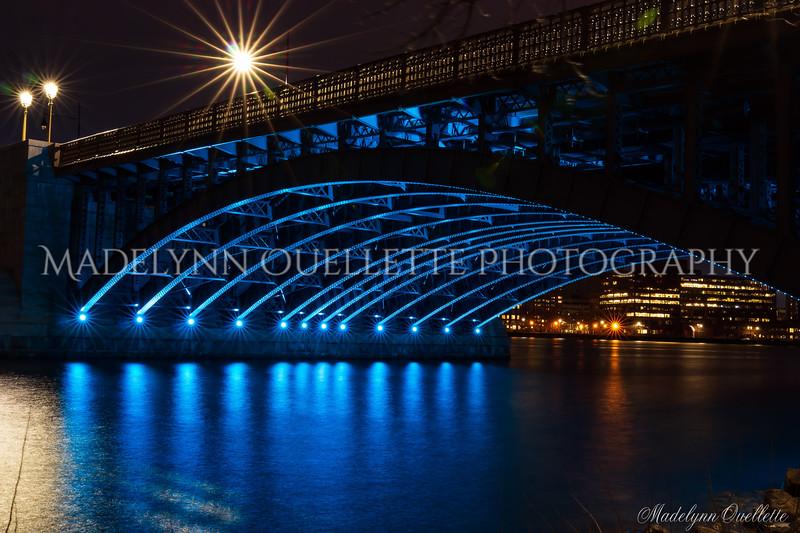 Longfellow Arch in Blue