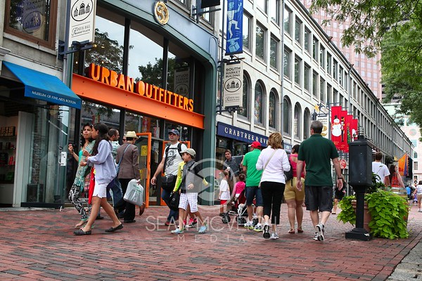 Shopping in Quincy Market