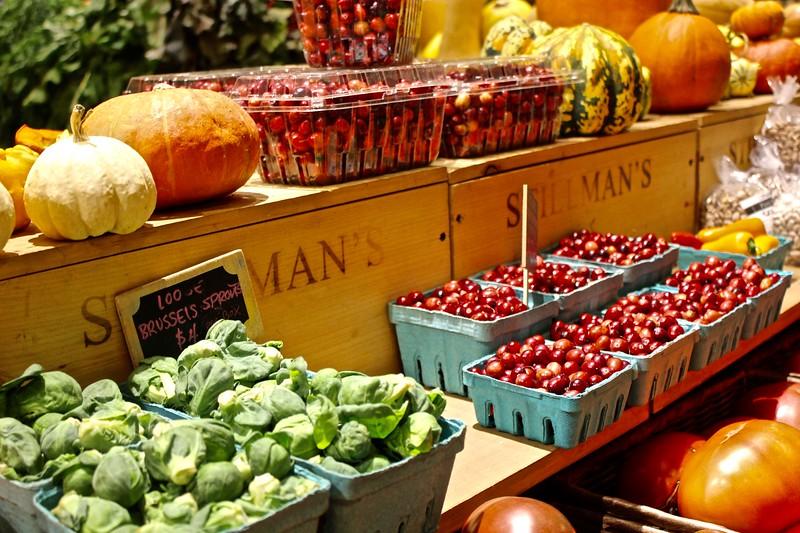 vegetables at Boston Public Market in Boston, Massachusetts