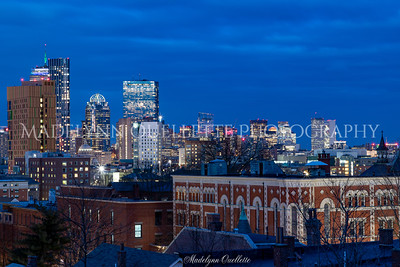 Boston Skyline from Mission Hill
