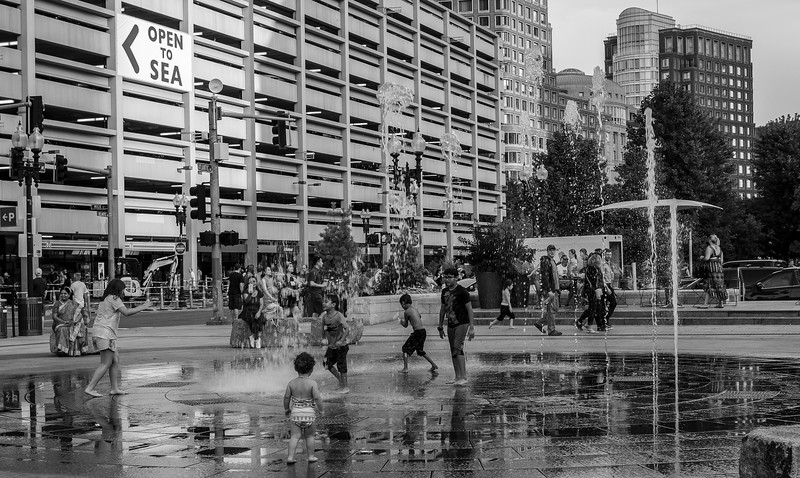 Rose Kennedy Greenway Fountain
