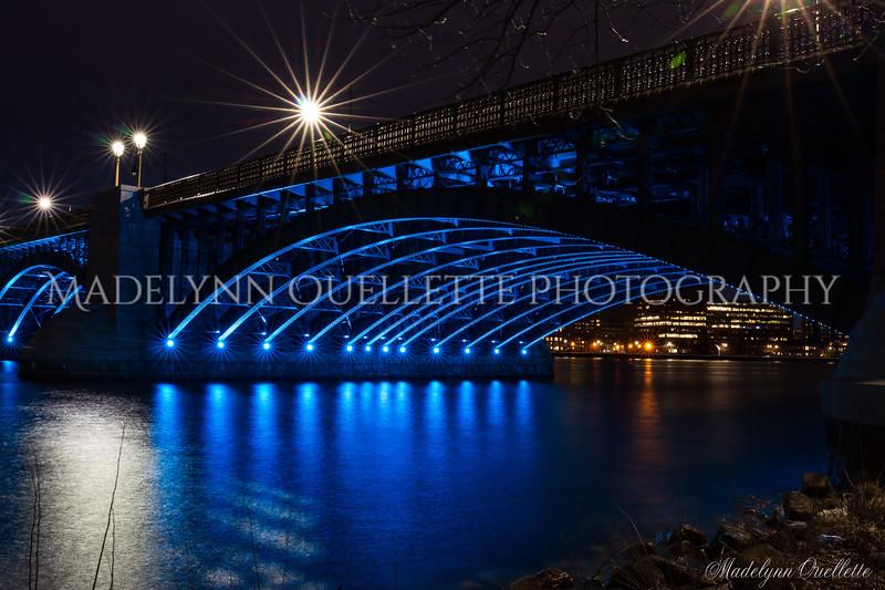 Longfellow Arch in Blue 2