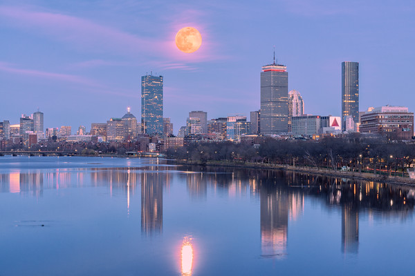 Back Bay Moonrise