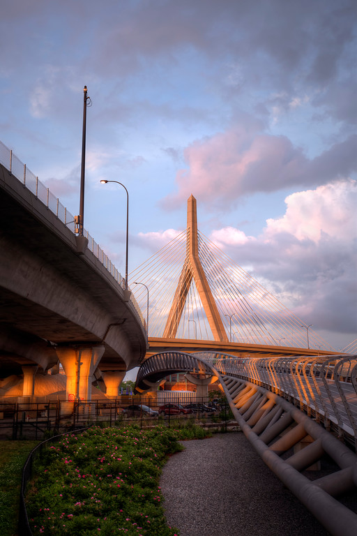 Zakim Bridge, Boston, Massachusetts