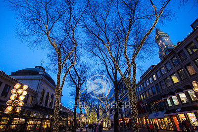 Starry Night at Quincy Market