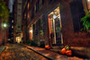 Autumn on Acorn Street - Boston