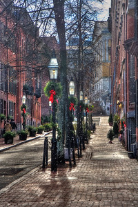 Beacon Hill Boston in All Seasons