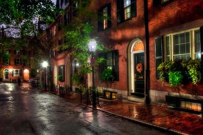 Beacon Hill Boston in All Seasons