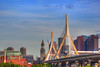 Zakim Bridge on a Clear Day