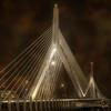 Leonard P Zakim Bridge - Sepia
