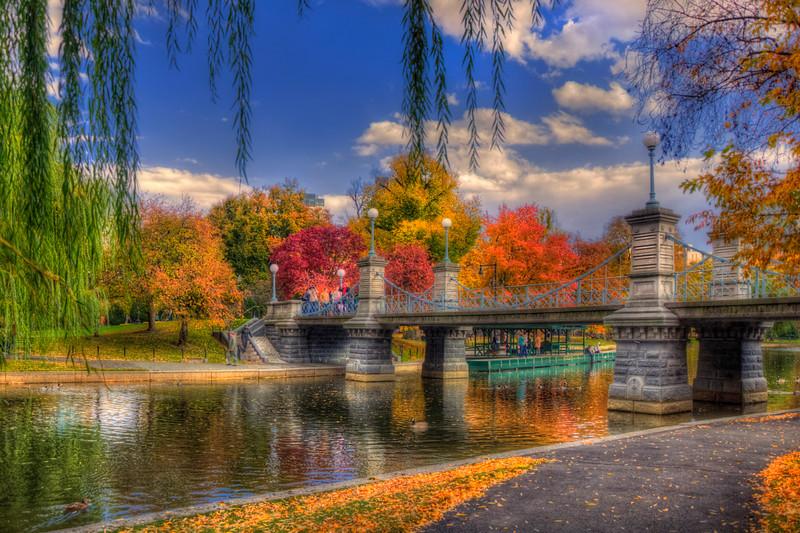 Autumn in The Public Garden