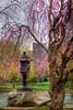Japanese Lantern Sculpture in the Public Garden