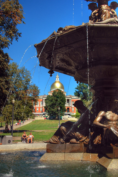 Brewer Fountain - Boston Common