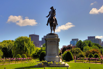 Washington in the Garden - Boston Public Garden
