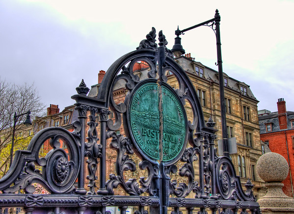 Boston Public Garden Gate