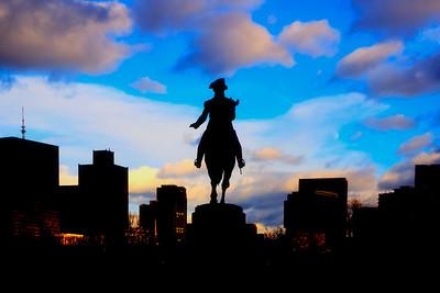 George Washington Statue - Boston Public Garden
