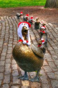 Santa Ducks - Make Way For Ducklings