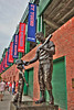 Ted Williams and the Boy Statue