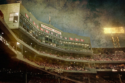 Fenway Park home of the Boston Red Sox.  Boston Art Photography by Joann Vitali