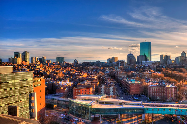 Boston Skyline of Back Bay