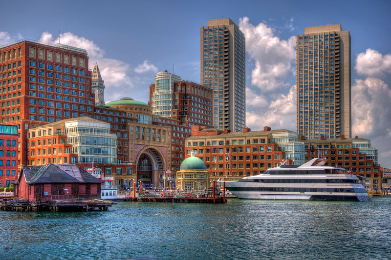 Boston Harbor and the Odyssey