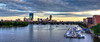 Boston Skyline Panoramic 3