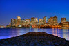 Boston Skyline  - Blue Hour