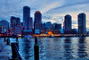 Blue Hour on Boston Harbor