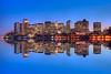 Boston Skyline Reflections