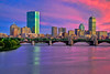 Boston Pastel Sunset