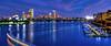 Boston Skyline Panoramic at Night