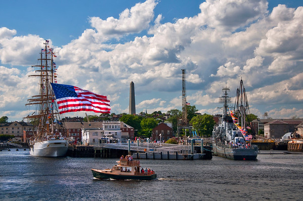 Scenes taken in or from the town of Charlestown, Ma.<br /> Boston Art Photography by Joann Vitali