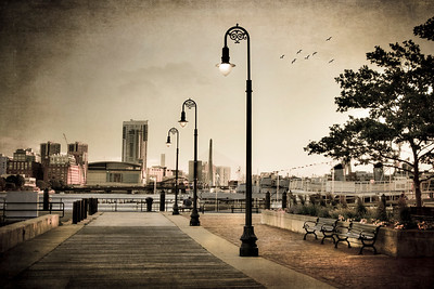 Scenes taken in or from the town of Charlestown, Ma. Boston Art Photography by Joann Vitali