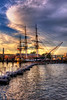 USS Constitution Sunset - Boston