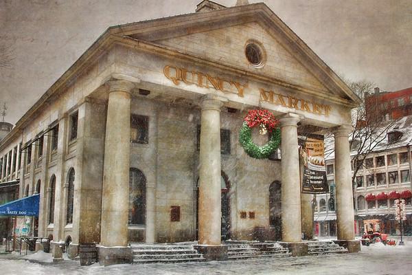 Quincy Market Snow 2