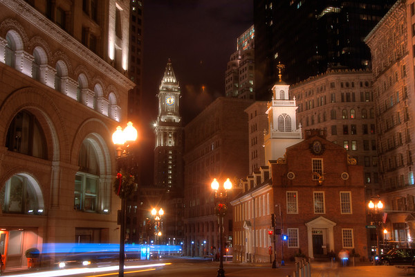Boston History - Old State House