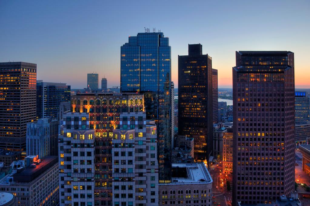 Boston Skyline - Financial District