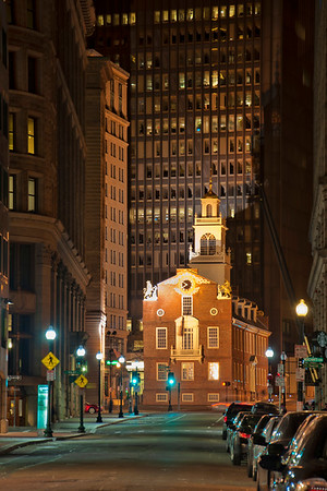 Old State House by Night