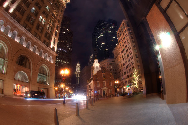 Old State House at Night - Boston
