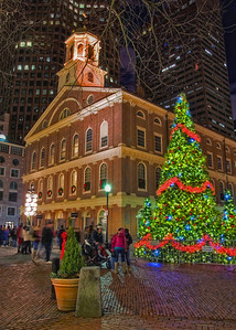 Faneuil Hall Christmas Card