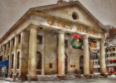 Quincy Market Christmas Card