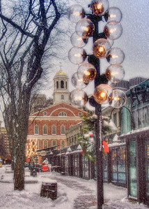 Quincy Market Christmas 2