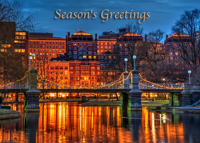 Boston Season's Greeting Card