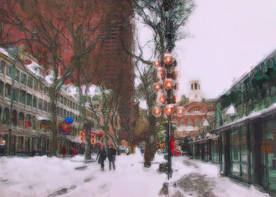 Quincy Market Holiday Card 2