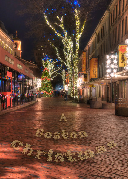 Quincy Market Holiday Card