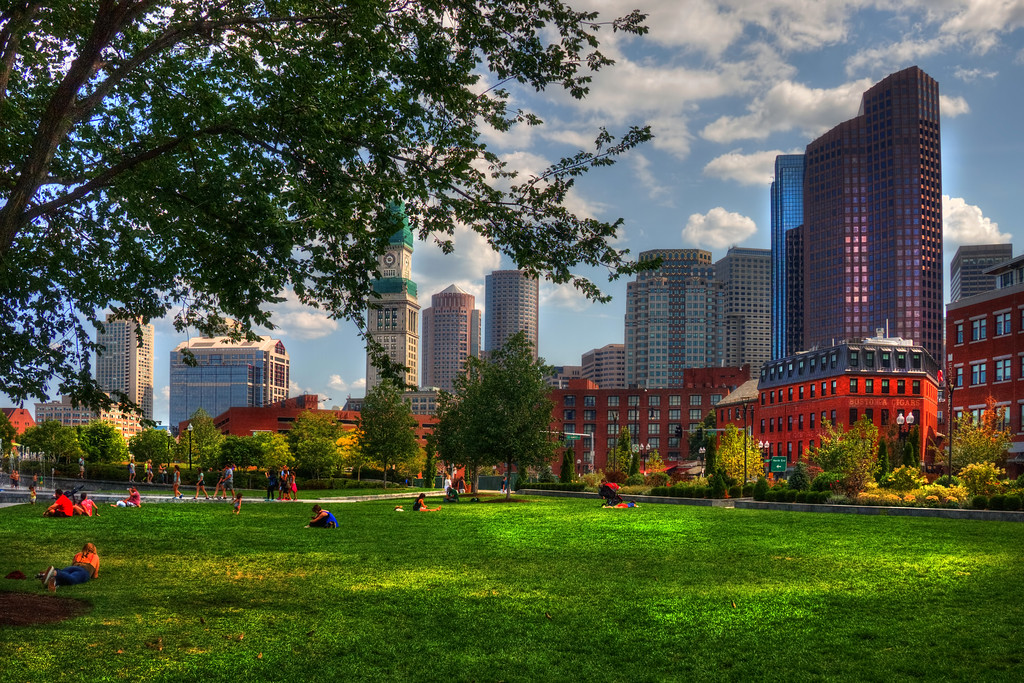 Boston North End Parks - Rose Kennedy Greenway