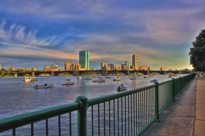 Evening on the Charles - Boston